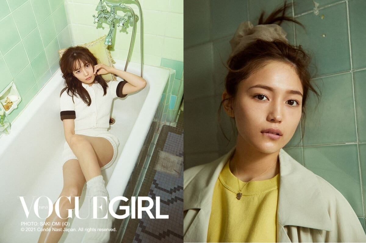 VOGUE GIRL PHOTO:SAKI OMI(iO)©2021 Conde Nast Japan. All rights reserved.