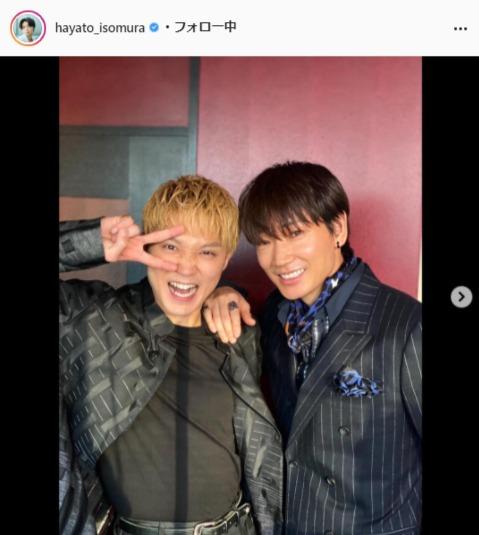 磯村勇斗公式Instagram(hayato_isomura)より
