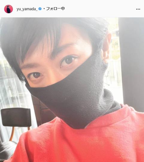 山田優公式Instagram(yu_yamada_)より