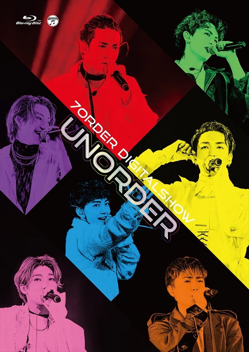 7ORDER LIVE DVD/Blu-ray『UNORDER』
