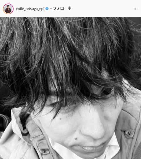 EXILE TETSUYA公式Instagram(exile_tetsuya_epi)より