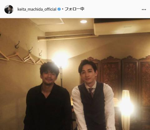 町田啓太公式Instagram(keita_machida_official)より