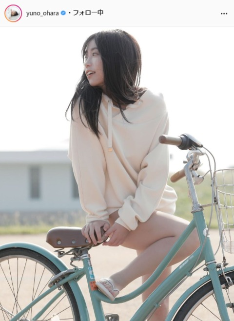 大原優乃公式Instagram(yuno_ohara)より