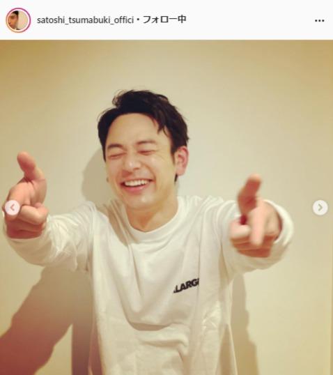 妻夫木聡公式Instagram(satoshi_tsumabuki_official)より