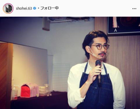 三浦翔平公式Instagram(shohei.63)より