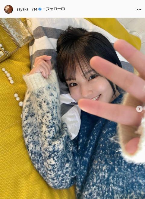 山本彩公式Instagram(sayaka__714)より