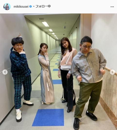 ミキ・昴生公式Instagram(mikikousei)より