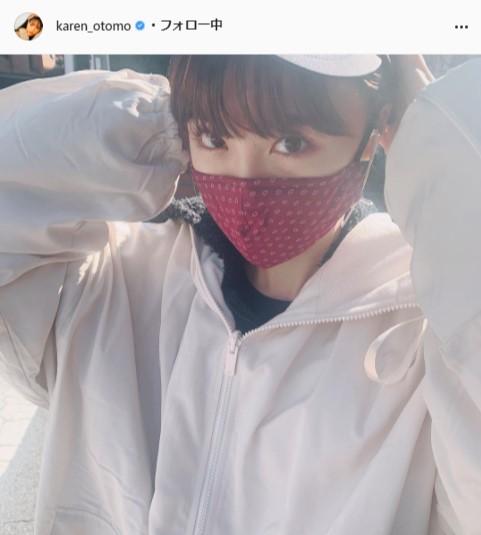 大友花恋公式Instagram(karen_otomo)より