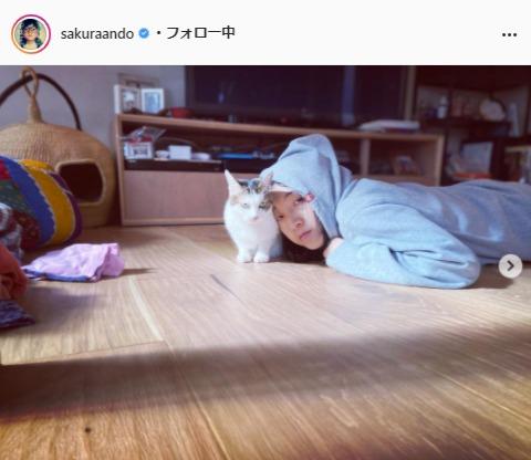 安藤サクラ公式Instagram(sakuraando)より