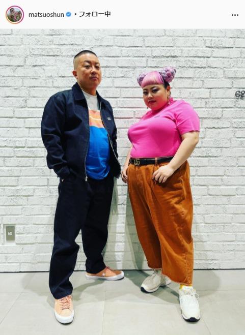 チョコレートプラネット・松尾駿公式Instagram(matsuoshun)より
