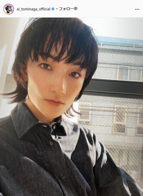 冨永愛公式Instagram(ai_tominaga_official)より