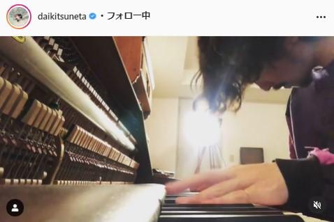 常田大希公式Instagram(daikitsuneta)より