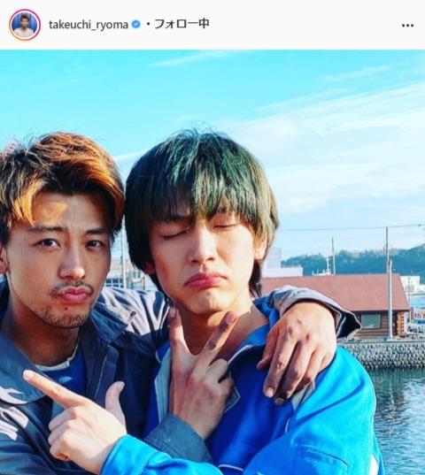 竹内涼真公式Instagram(takeuchi_ryoma)より