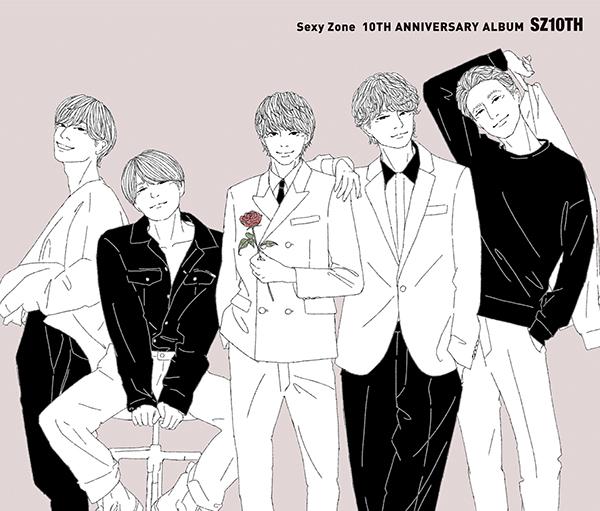 """<span class=""""title"""">Sexy Zone 10周年記念アルバム『SZ10TH』3・3発売!ダイジェスト映像も公開中</span>"""