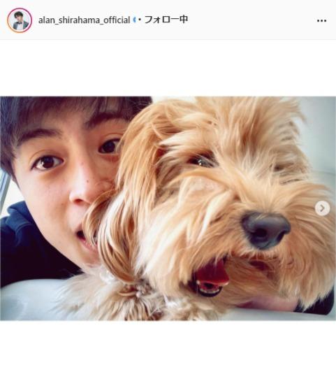 EXILE/GENERATIONS白濱亜嵐公式Instagram(alan_shirahama_official)より