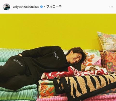 中尾明慶公式Instagram(akiyoshi0630nakao)より