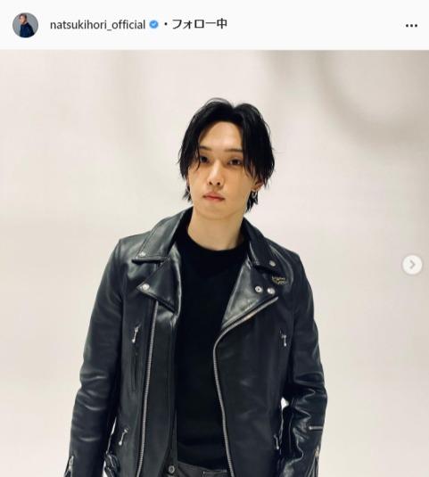 FANTASTICS・堀夏喜公式Instagram(natsukihori_official)より