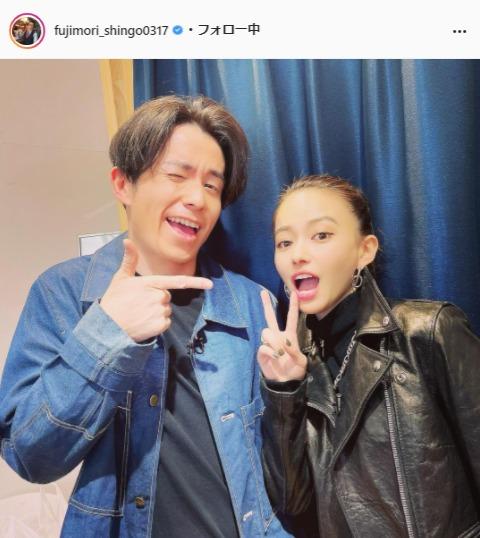 オリエンタルラジオ・藤森慎吾公式Instagram(fujimori_shingo0317)より