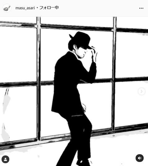 桝太一公式Instagram(masu_asari)より