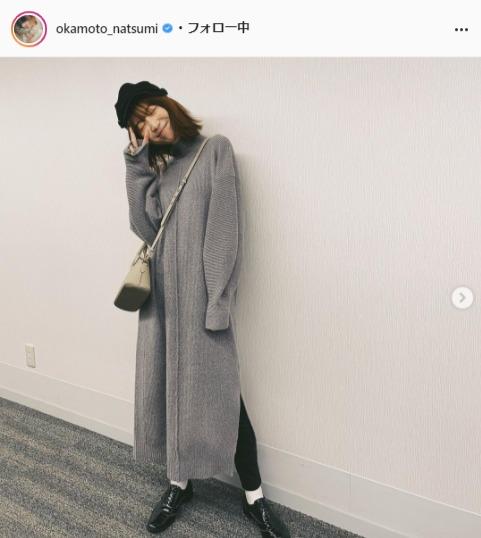 岡本夏美公式Instagram(okamoto_natsumi)より