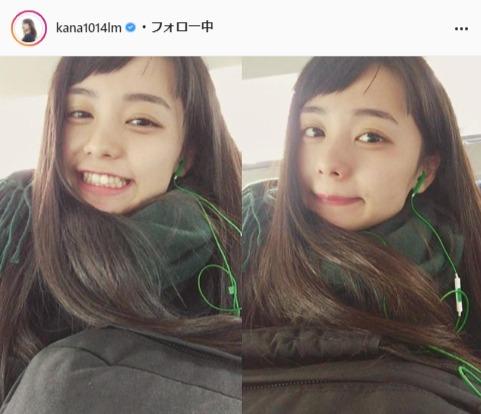 足立佳奈公式Instagram(kana1014lm)より