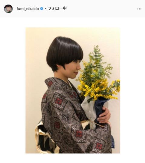 二階堂ふみ公式Instagram(fumi_nikaido)より