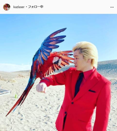 メイプル超合金・カズレーザー公式Instagram(kazlaser)より
