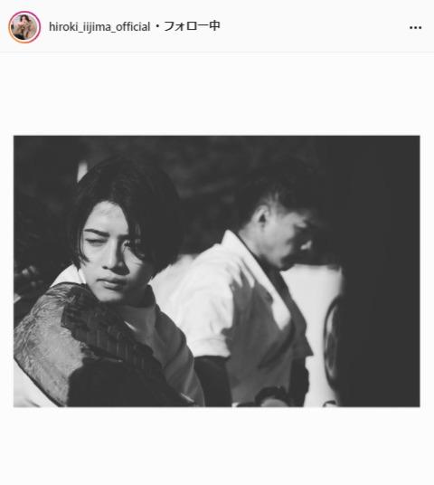 飯島寛騎公式Instagram(hiroki_iijima_official)より