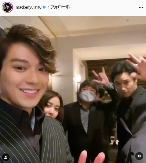 新田真剣佑公式Instagram(mackenyu.1116)より