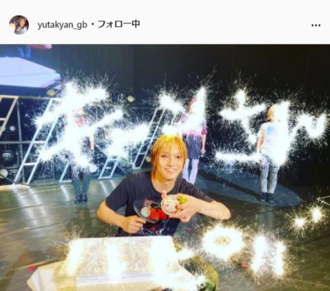 ゴールデンボンバー・喜矢武豊公式Instagram(yutakyan_gb)より