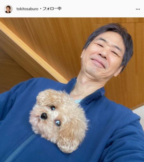 時任三郎公式Instagram(tokitosaburo)より