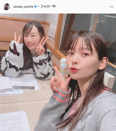 上坂すみれ公式Instagram(uesaka_sumire)より