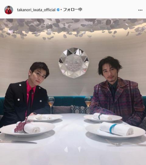 三代目 J SOUL BROTHERS・岩田剛典公式Instagram(takanori_iwata_official)より