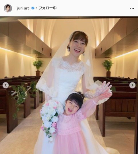 上野樹里公式Instagram(_juri_art_)より