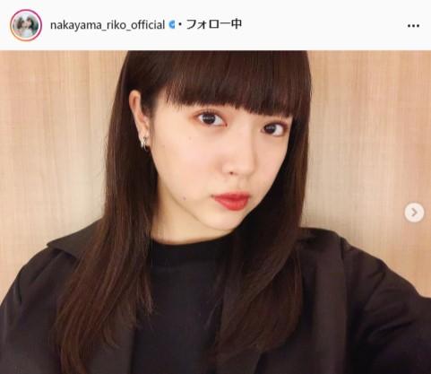 私立恵比寿中学・中山莉子公式Instagram(nakayama_riko_official)より