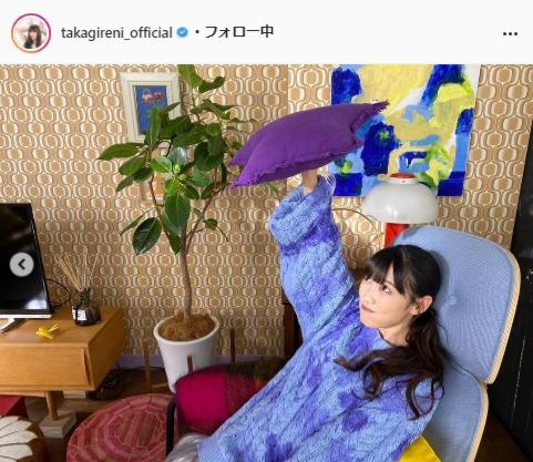 ももいろクローバーZ・高城れに公式Instagram(takagireni_official)より