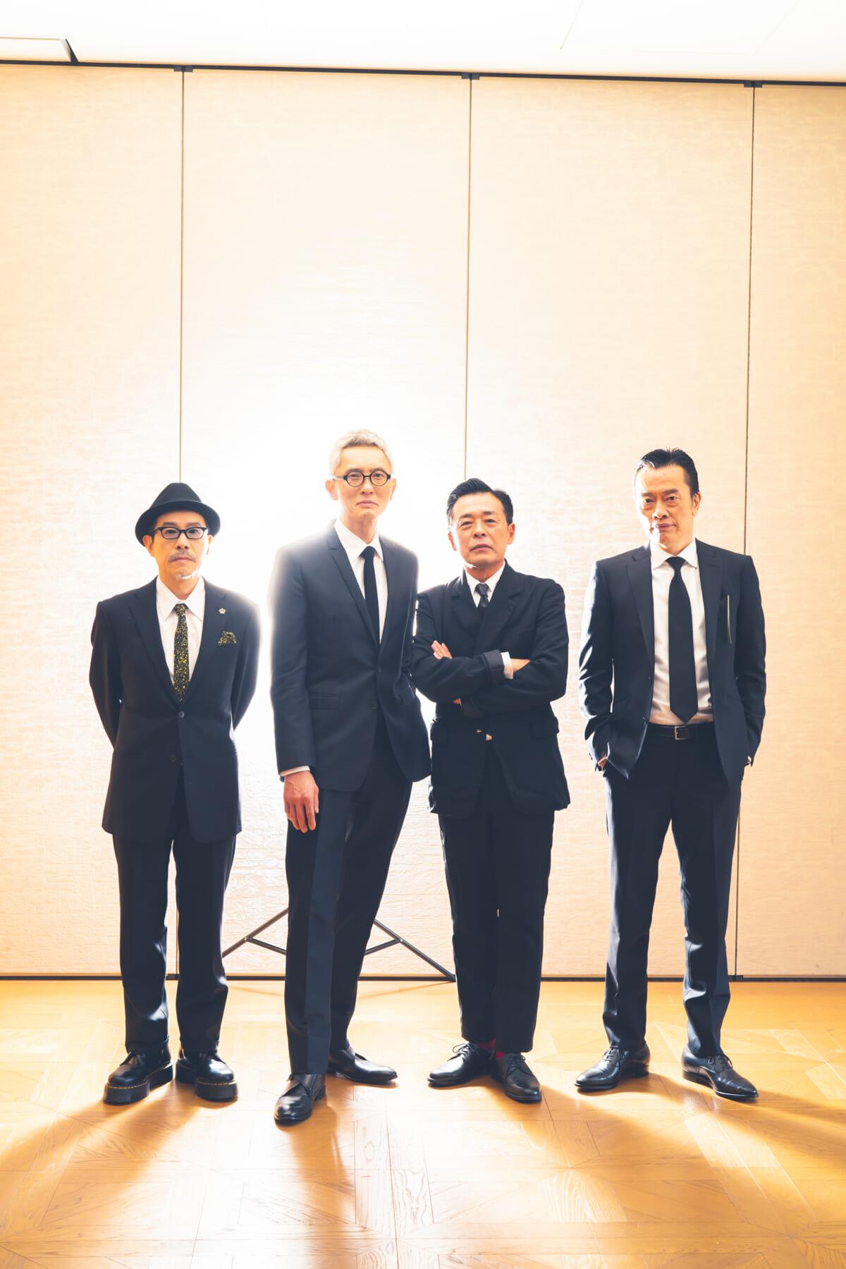 田口トモロヲ&松重豊&光石研&遠藤憲一インタビュー