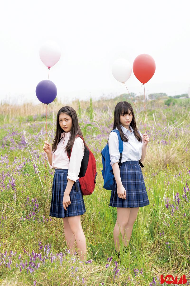 NMB48梅山恋和&塩月希依音