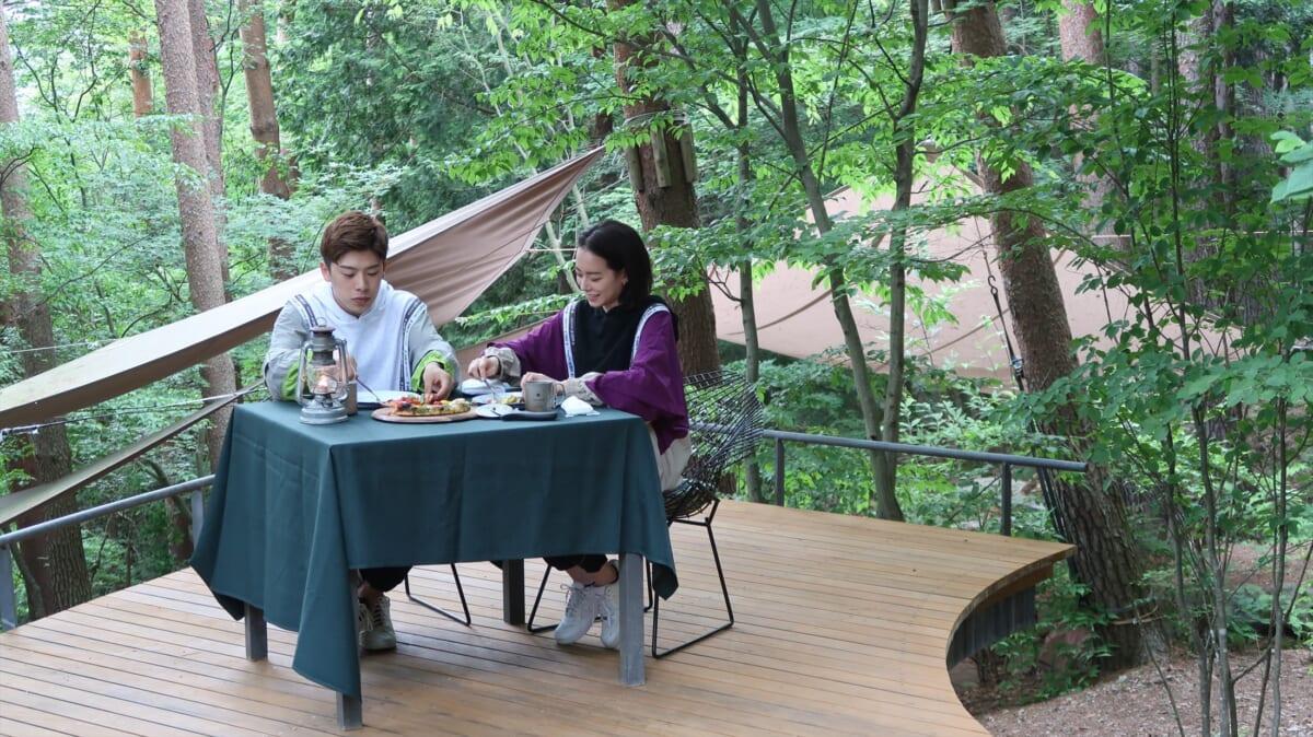 『NEXT TRIP ~富士山・河口湖で贅沢グランピングの旅~』