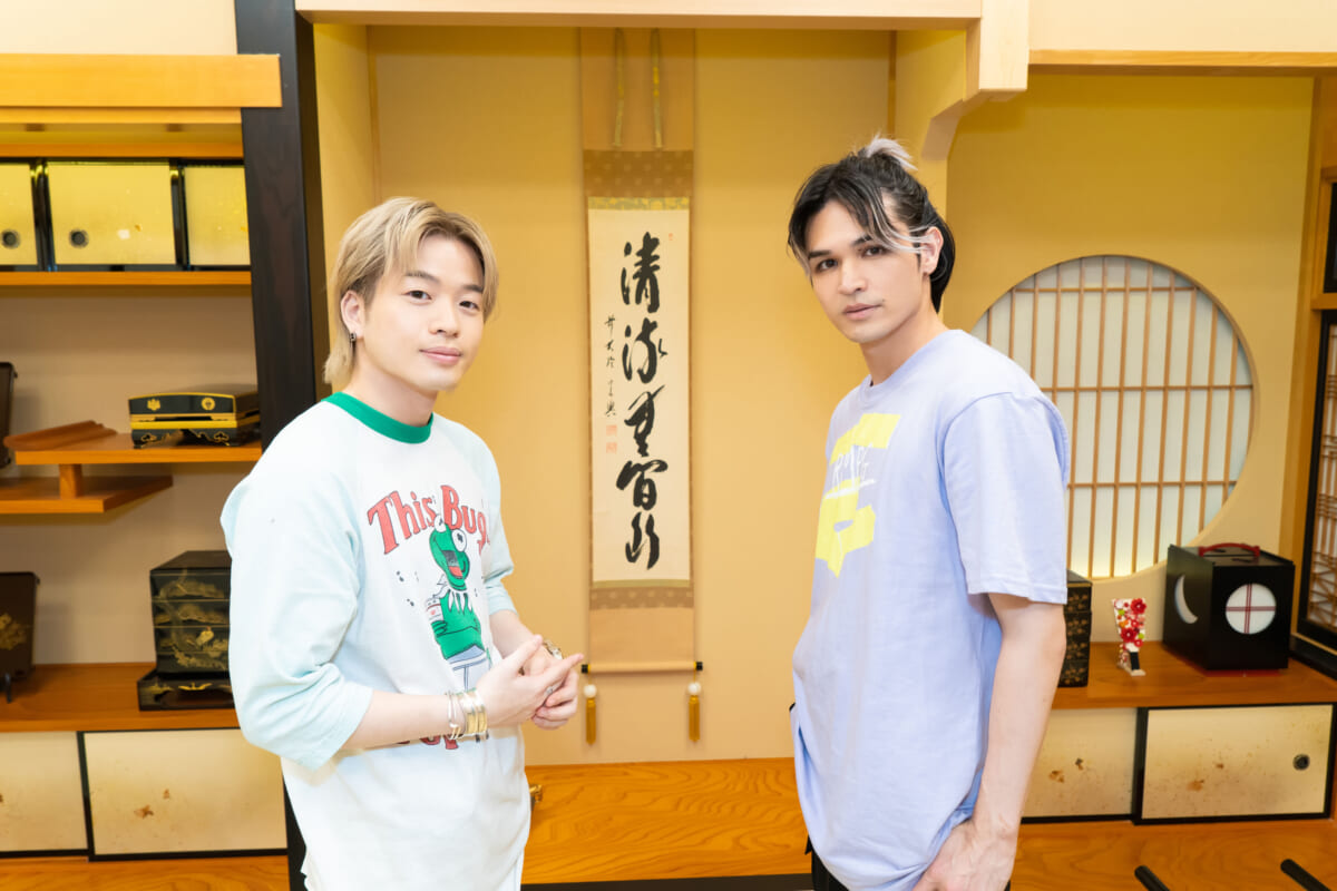 THE RAMPAGE from EXILE TRIBE山本彰吾&与那嶺瑠唯インタビュー