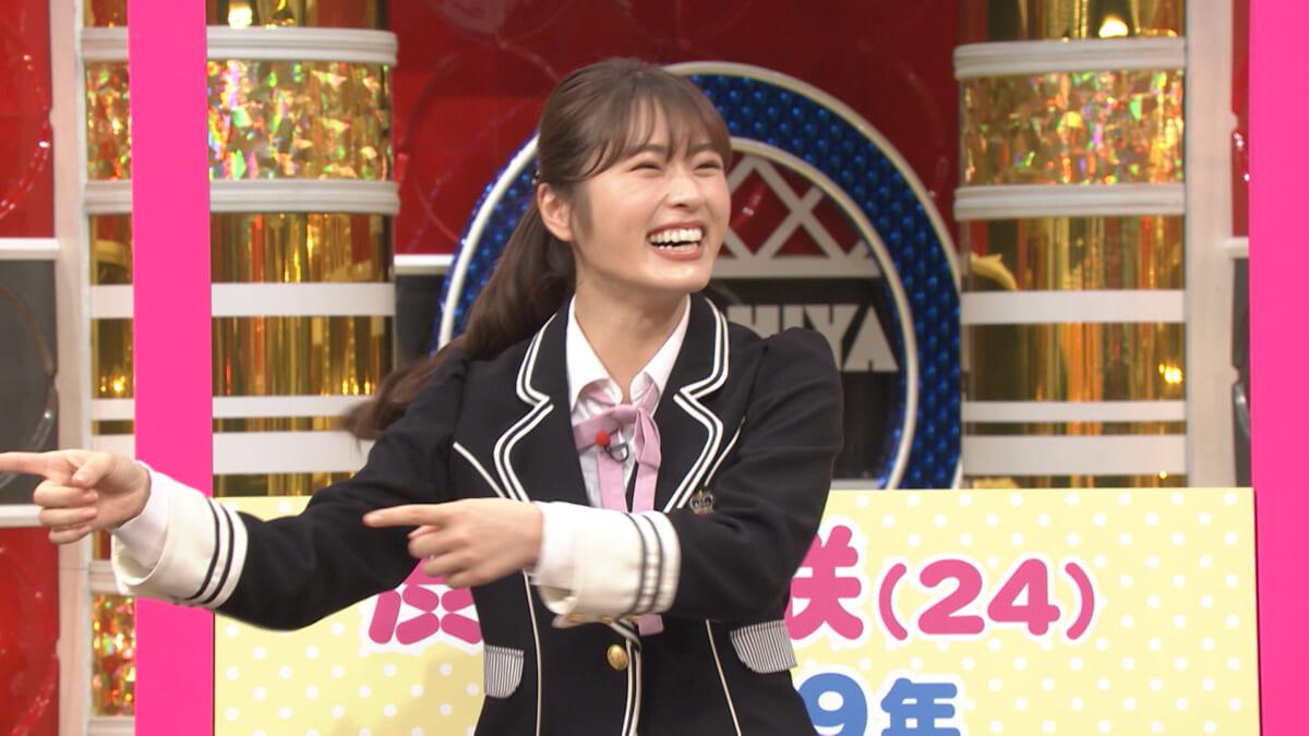 アイドル界から参戦するNMB48の渋谷凪咲