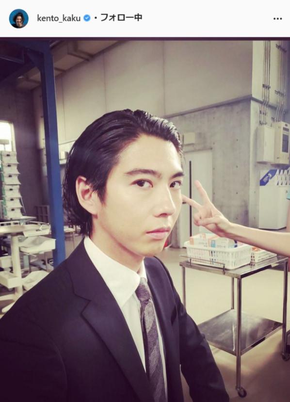 賀来賢人公式Instagram(kento_kaku)より