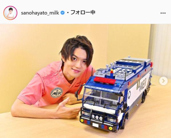 佐野勇斗公式Instagram(sanohayato_milk)より