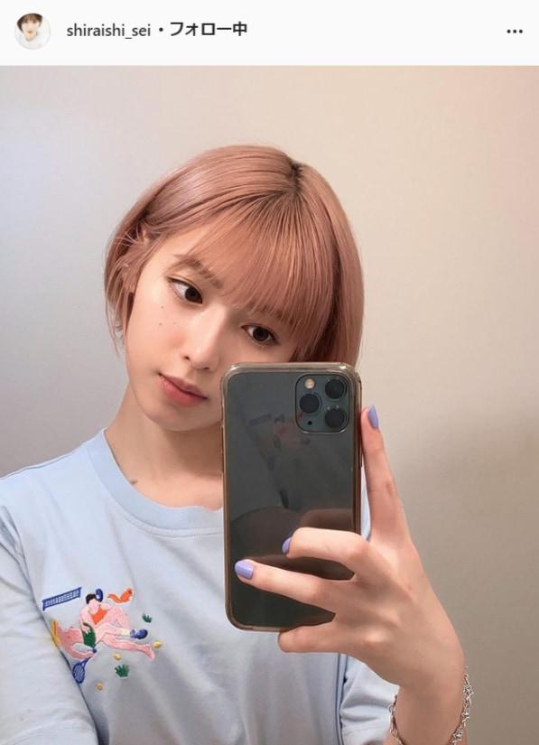 白石聖公式Instagram(shiraishi_sei)より