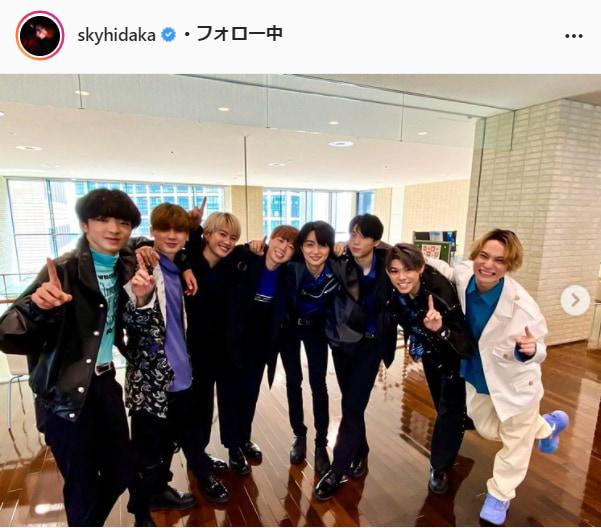 SKY-HI公式Instagram(skyhidaka)より