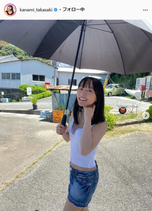高崎かなみ公式Instagram(kanami_takasaki)より