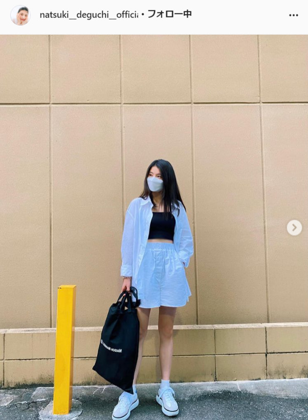出口夏希公式Instagram(natsuki__deguchi__official)より