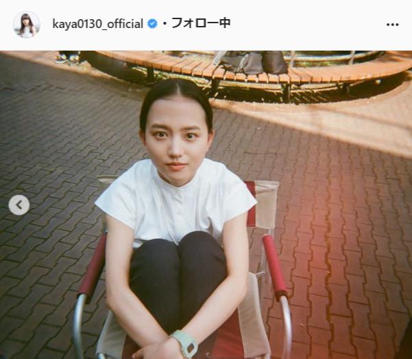 清原果耶公式Instagram(kaya0130_official)より