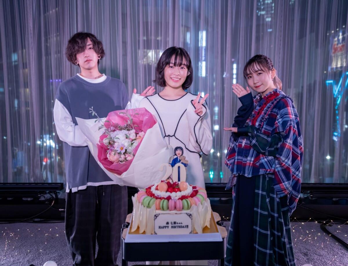 森七菜「深海」リリース記念配信イベントphoto TOMOKAZU TAZAWA