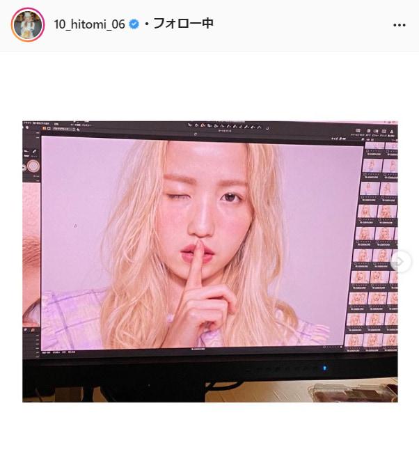 AKB48・本田仁美公式Instagram(10_hitomi_06)より